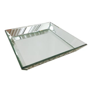Square Mirrored Tray