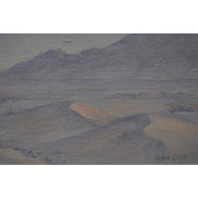 Jean Coutts Desert Landscape Oil Painting - Image 4 of 4