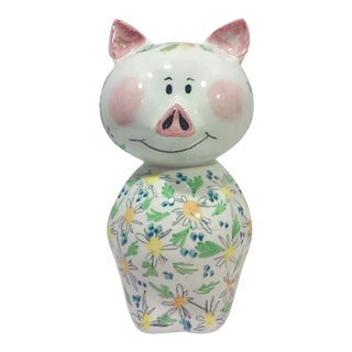 Italian Ceramic Pig