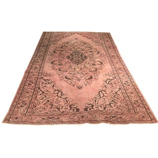 Turkish Over-Dyed Rug - 6′2″ × 10′1″