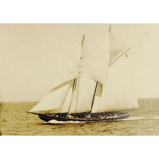 Vintage Sailing Ship Photo