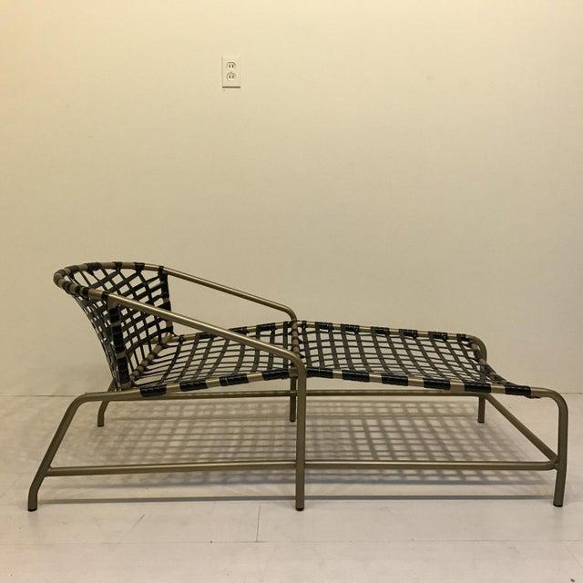 Brown jordan kantan chaise lounge chair chairish for Brown jordan chaise lounge