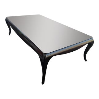Art Deco-Style Cherry Coffee Table