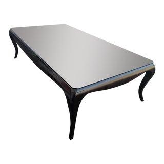 Art Deco-Style Cherry Coffee Table