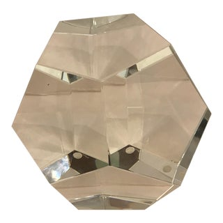 Faceted Crystal Sphere