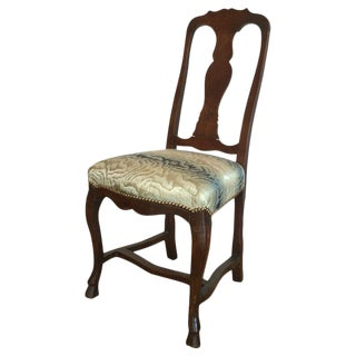 19th C. Antique Italian Side Chair