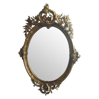 Gold French Wall Mirror