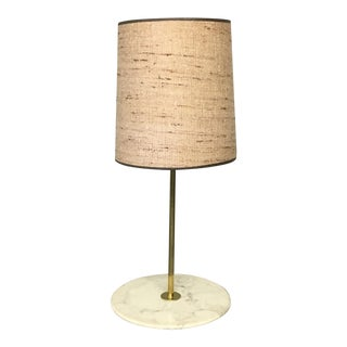 Adrian Pearsall Marble Table Floor Lamp