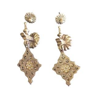 Brass Moroccan Door Knockers - A Pair