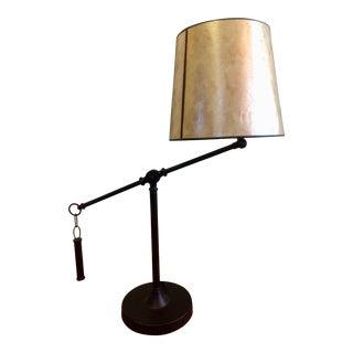 Black & Cream Floor Lamp