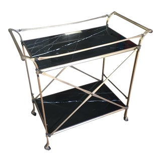 Restoration Hardware Champagne Cart