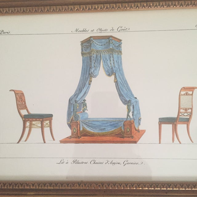 Image of Chelsea House French Framed Lithographs - A Pair