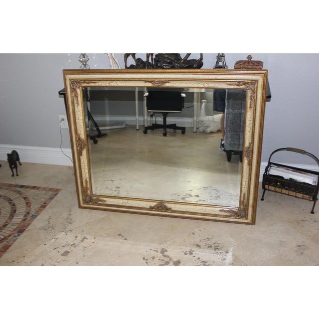 Image of Antique FrenchCarved Gilt Mirror