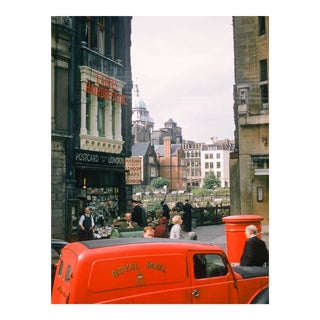 Royal Mail, London Vintage 35mm Film Slide Photograph (Circa 1960s)