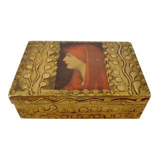 Vintage Italian Wood Box