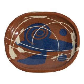 Ceramic 1980's platter