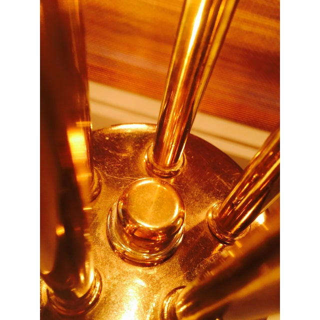 Image of Robert Sonneman Brass Table Lamp