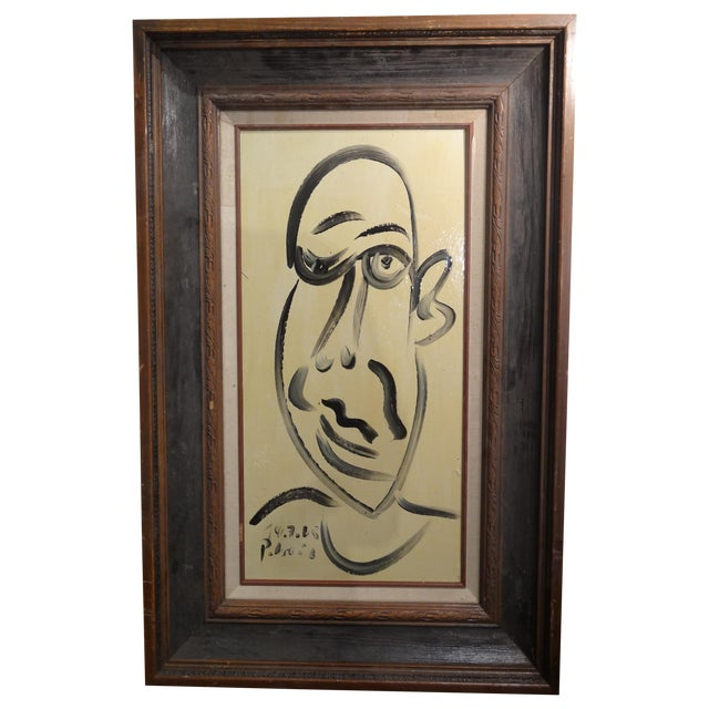 """Image of """"Pablo Picasso"""" Cubist Painting by Keil"""