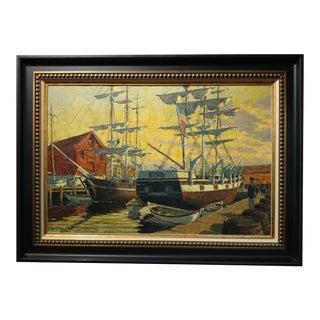 "Arthur Sarnoff ""Nantucket Dock"""