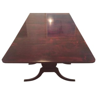 Antique Refinished Mahogany Dining Table