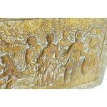 Image of English Brass Coal Scuttle Box