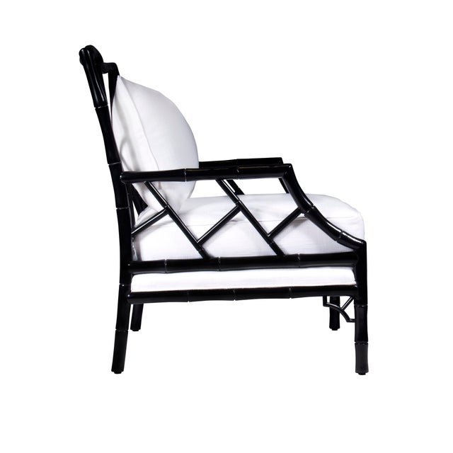 Kennedy Lounge Chair - Ebony Lacquer - Image 4 of 4
