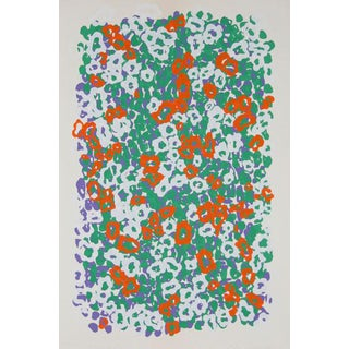 "1979 Nadine Prado ""Untitled - Mixed Flowers"" Print"