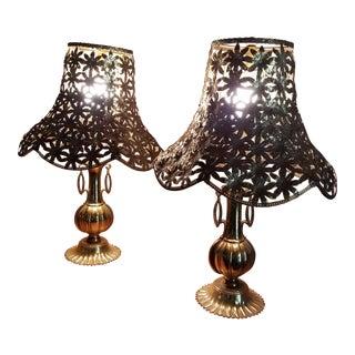 L & L WCM Victorian Parlor Lamps - A Pair