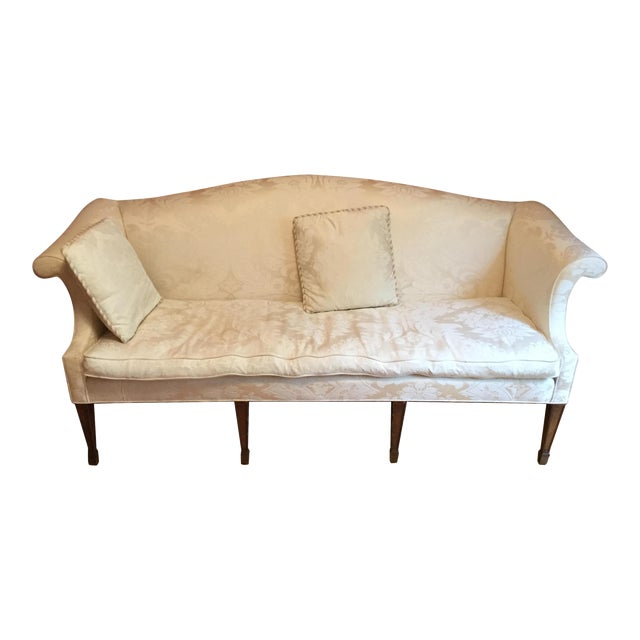 Henredon Natchez Collection Cream Sofa Chairish
