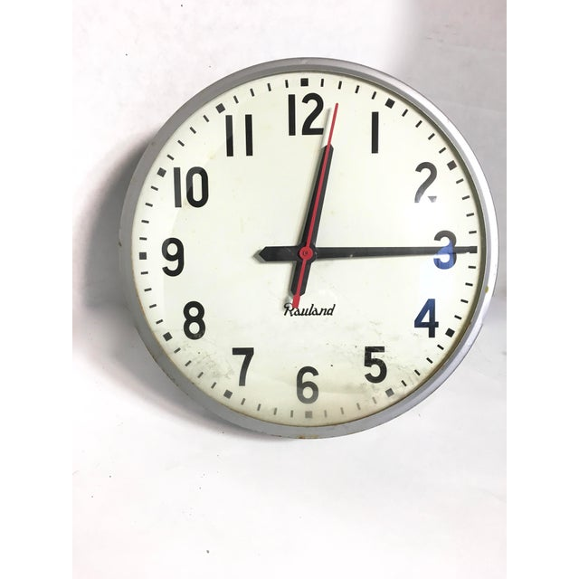 Vintage Rauland School Clock - Image 3 of 8
