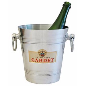 Vintage French Gardet Champagne Chiller/Bucket