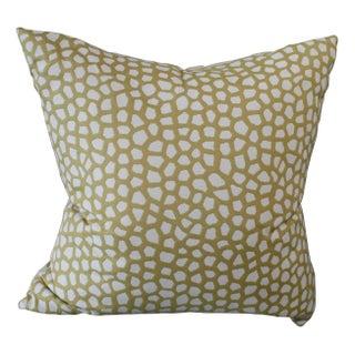 Custom Giraffe Print Pillow by Tamara Mack