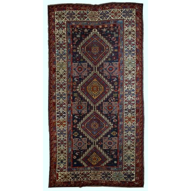 Antique Caucasian Shirvan Rug- 4′9″ × 7′10″ - Image 1 of 10