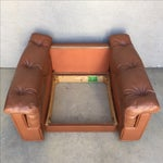 """Image of 70s Plush """"Danish"""" in Caramel Accent Chair"""