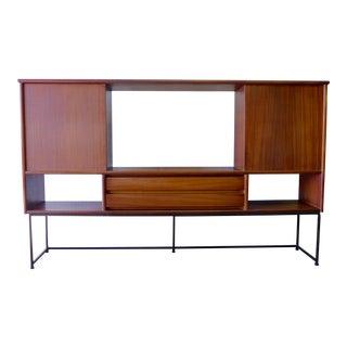 Mid Century Modern Hutch / Bookcase by Stanley