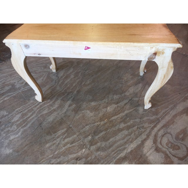 Italian Carved Wood Console Table - Image 6 of 11