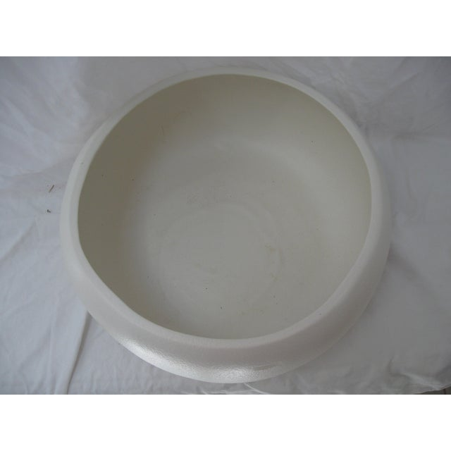 White Mid-Century Planter Bowl - Image 5 of 7
