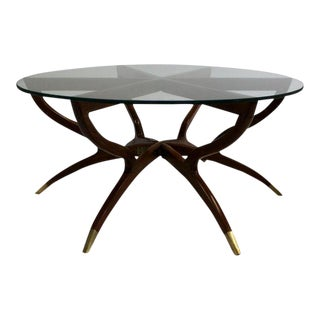 Mid-Century Spider Leg Coffee Table