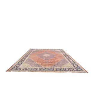 Traditional Hand Made Knotted Tabriz Mahi Design Rug - 12′9″ × 19′7″ - Size Cat. 12x18 13x20