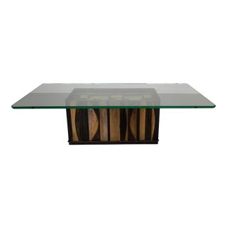 Curtis Jere Brutalist Coffee Table