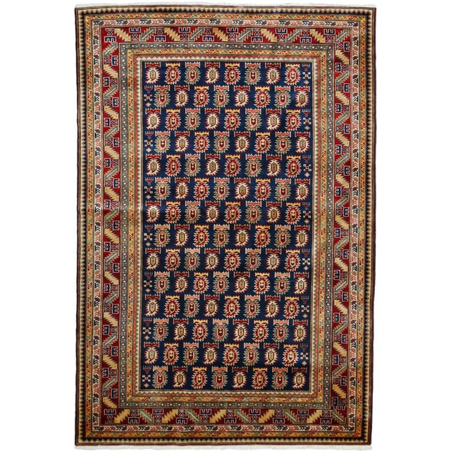 "Traditional Hand Knotted Area Rug - 4'10"" X 6'10"" - Image 2 of 2"