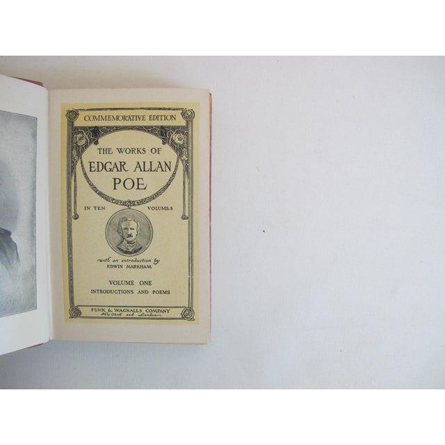 Image of The Works of Edgar Allen Poe - Set of 10