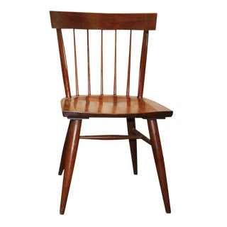 Mid-Century Wood Windsor Chair