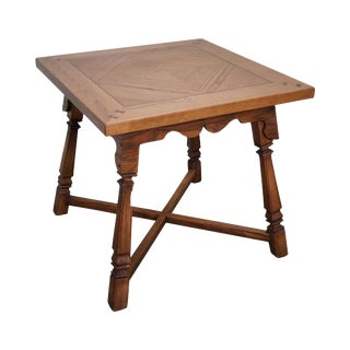 Romweber Viking Oak Square Game Table