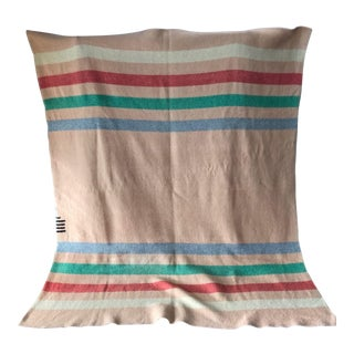 Vintage 1930's 4.5 Point Wool Throw