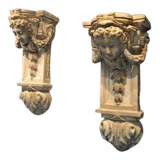 18th Century Plaster Corbels
