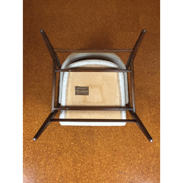 Mid-Century Modern Gio Ponti for Singer & Son Lounge Chair - Image 9 of 11