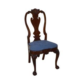 Kindel Winterthur Philadelphia Queen Anne Side Chair