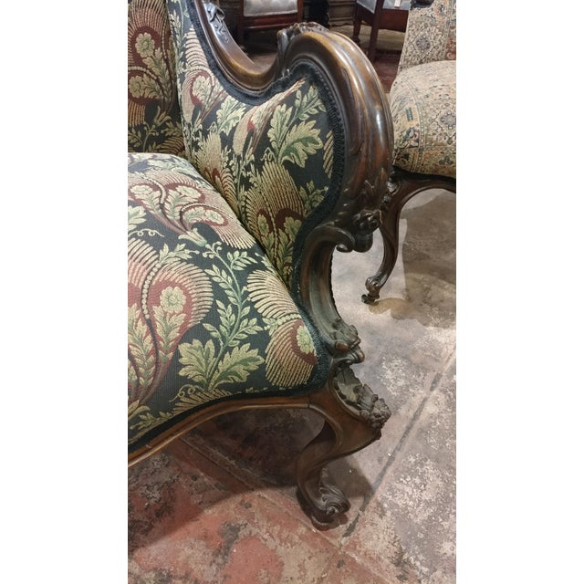 19th Century Victorian Tapestry Chairs - A Pair - Image 6 of 10