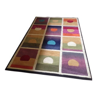 "Andy Warhol ""Sunrise Sunset"" Rug - 5'3"" x 7'9"""